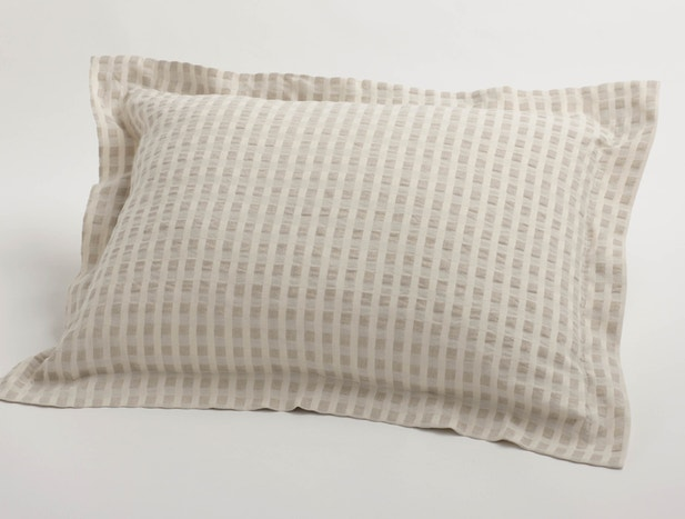 Cotton & Linen Birch Sham
