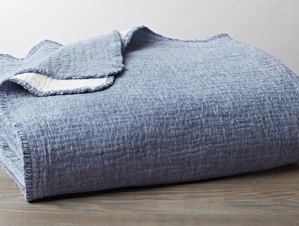 Cozy Cotton Organic Throw