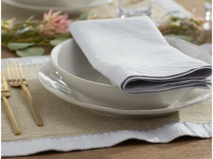 Simple Linen Napkins, Set of 4