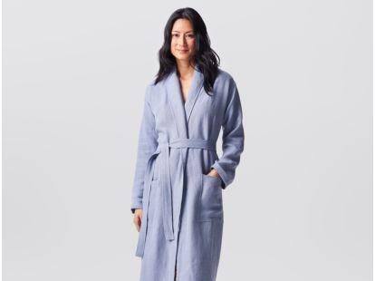 Women's Relaxed Linen Robe
