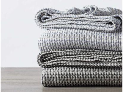 Miramar Organic Waffle Blanket