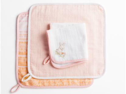 Muslin Organic Wash Cloth Set