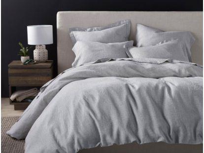 Organic Linen Chambray Duvet Cover