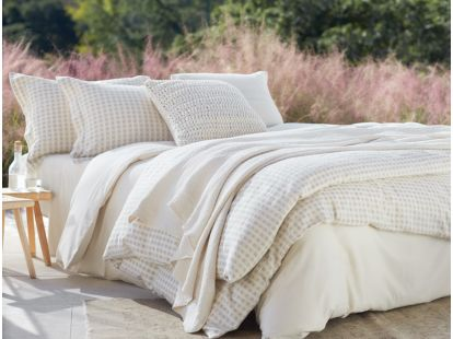 Organic Cotton & Linen Birch Swatch
