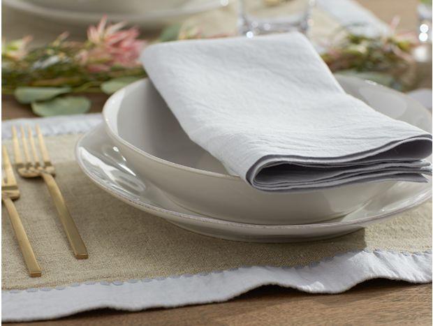 Simple Linen Napkins, Set of 4