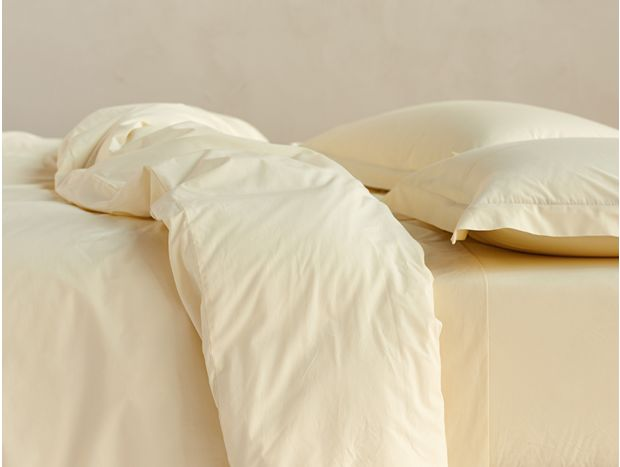 220 Thread Count Organic Percale Shams