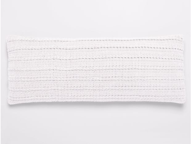 Braided Rope Organic Pillow Cover