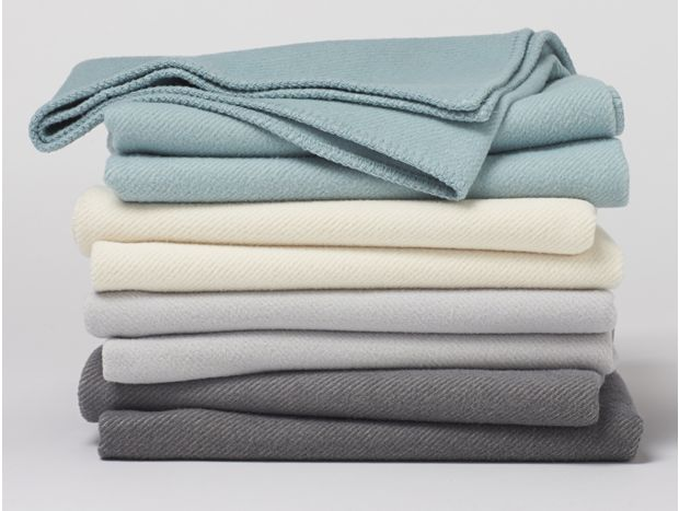 Carmel Washable Organic Cotton & Wool Blanket