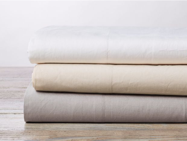300 Thread Count Organic Percale Sheet Set Subscription