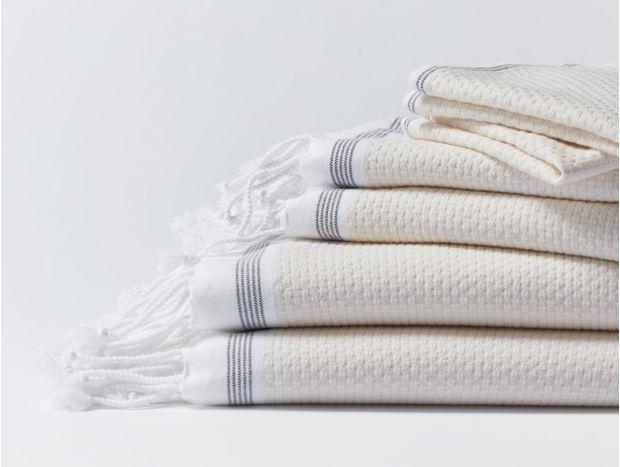 Mediterranean Organic Towel Set Subscription