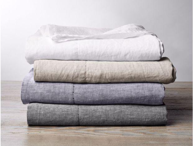 Organic Linen Chambray Sheet Set Subscription