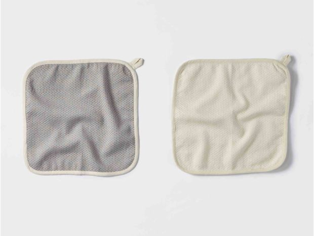 Mediterranean Organic Wash Cloth Set