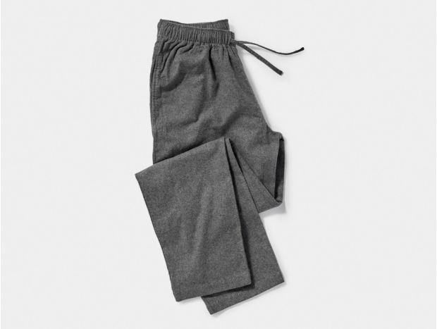 Men's Cloud Brushed Organic Flannel Pajama Pant