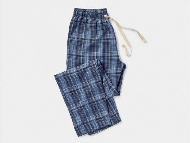 Men's Plaid Organic Pant