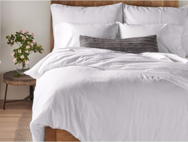 300 Thread Count Organic Sateen Minimalist Set