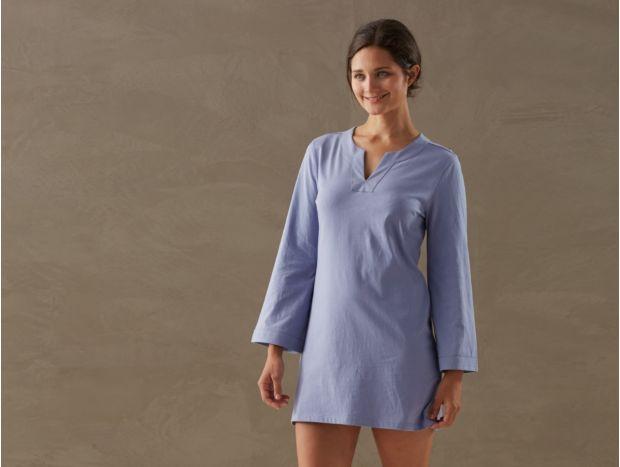 Women's Jersey Tunic Nightshirt