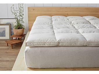 Cloudsleep Feather Bed Coyuchi
