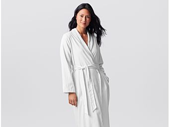 49ffb966d0 Women s Organic Sateen Terry Robe