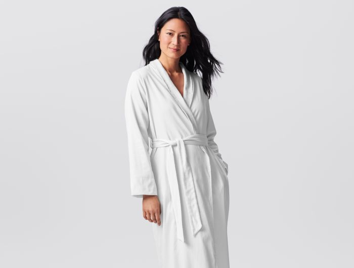 5e5da63980 Women s Organic Sateen Terry Robe