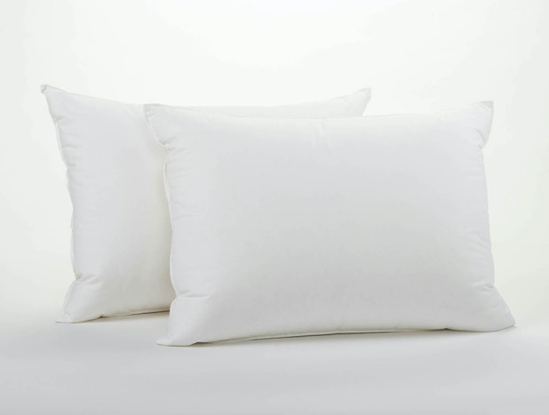 Down pillow insert. Made in U.S.A.