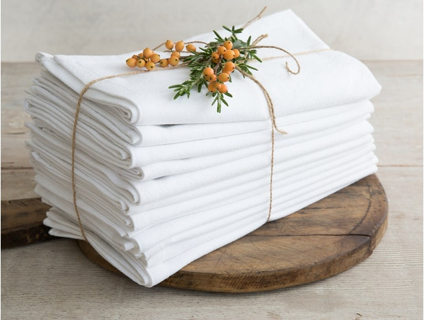 Farmhouse Organic Napkins, Set of 12