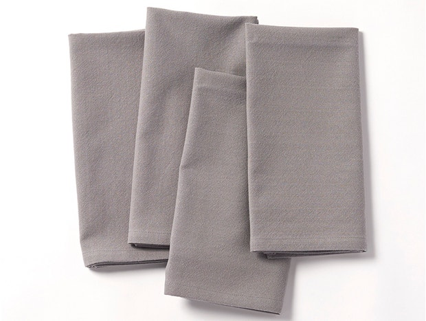 Farmhouse Organic Napkins, Set of 4