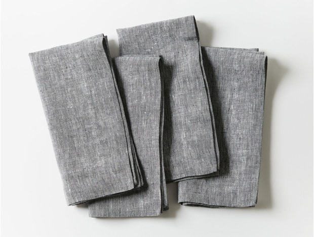Organic Linen Napkin, Set of 4