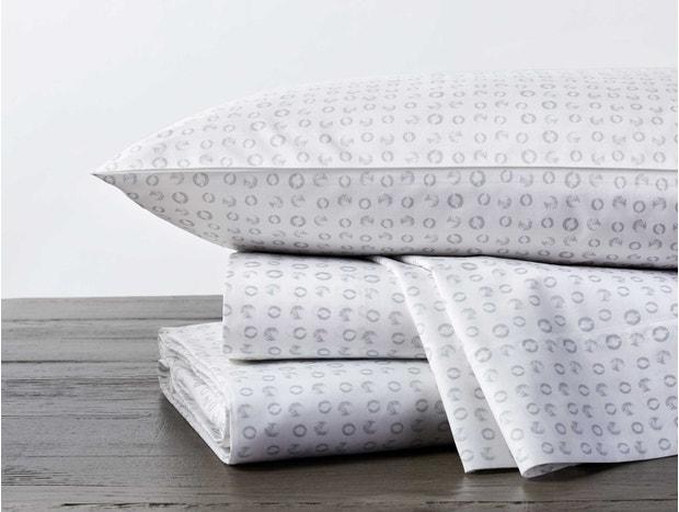 Luna Printed Organic Sheet Set