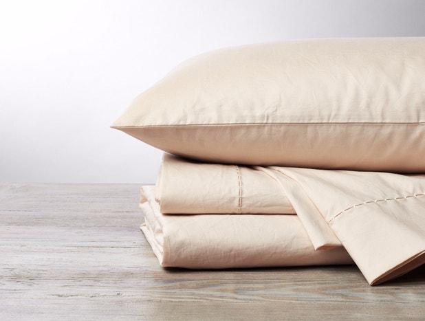500 Thread Count Organic Percale Pillowcases