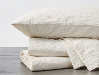 Organic Crinkled Percale™ Pillowcases