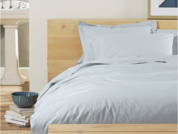 300 Thread Count Organic Percale Duvet Cover Subscription
