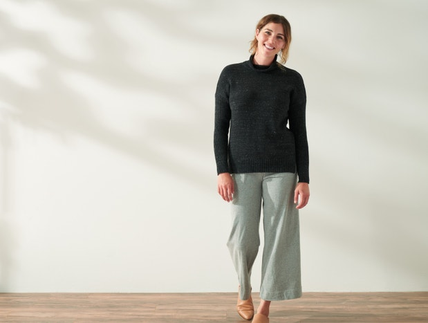 Arroyo Organic Funnel Neck Sweater