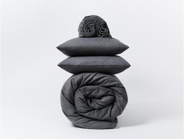 Cloud Brushed™ Organic Flannel Minimalist Set