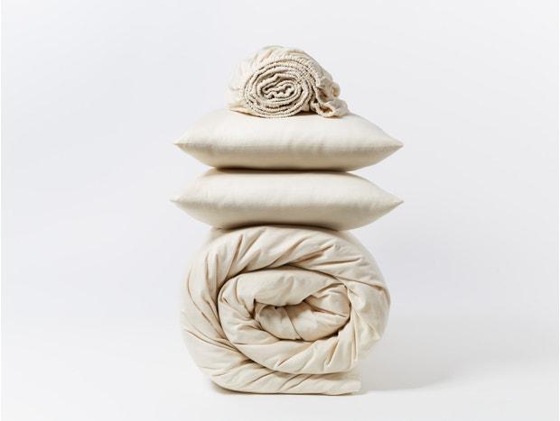 Cloud Brushed Organic Flannel™ Minimalist Set