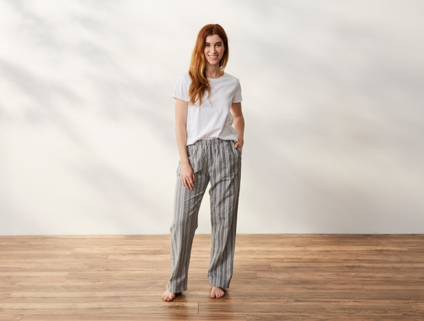 Women's Cloud Brushed™ Organic Flannel Pajama Pants