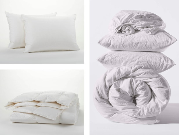 Organic Minimalist Bed Set