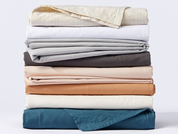Organic Crinkled Percale Swatch