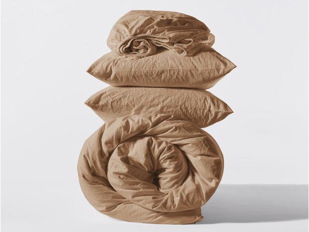 Organic Crinkled Percale™ Minimalist Set
