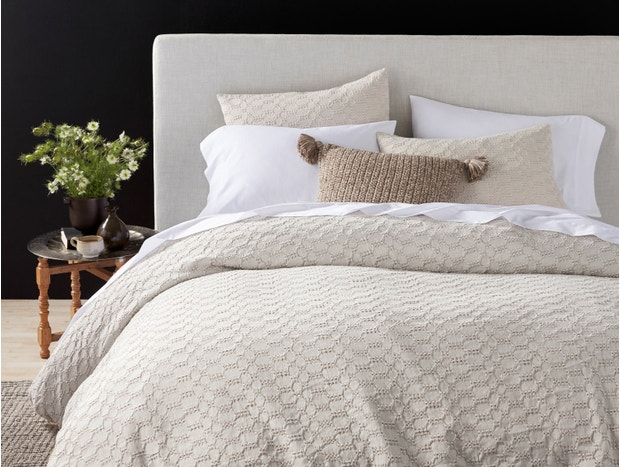 Crystal Cove Organic Duvet Cover Swatch