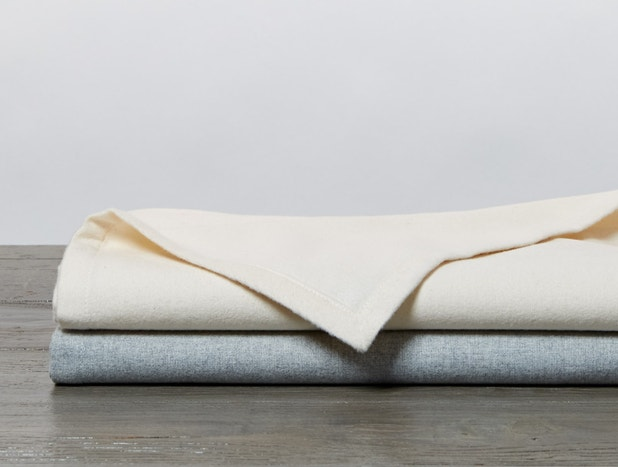 Cloud Brushed™ Organic Flannel Receiving Blanket