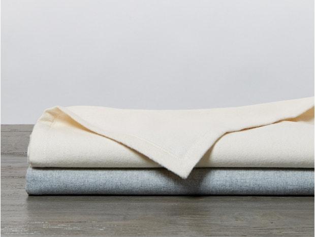 Cloud Brushed™ Organic Flannel Receiving Blanket