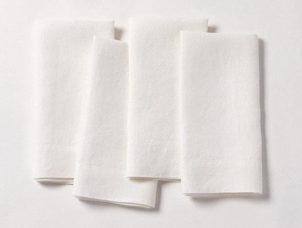 Organic Linen Napkin, Set of 4