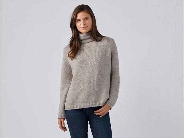 Undyed Alpaca Luxe Sweater