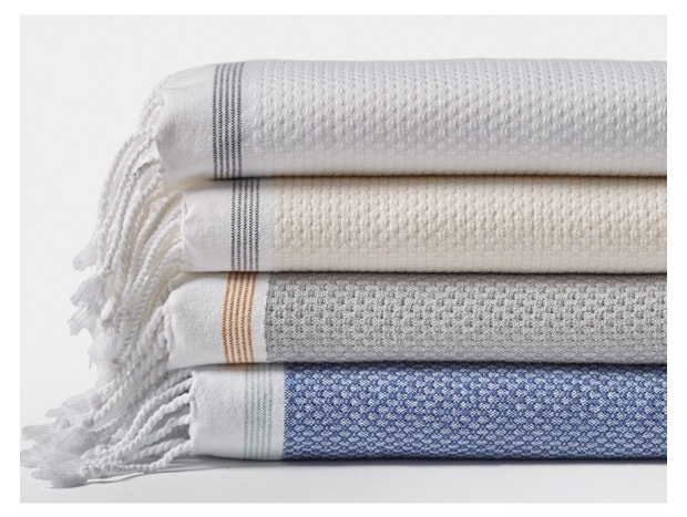 Mediterranean Organic Towel Set Subscription