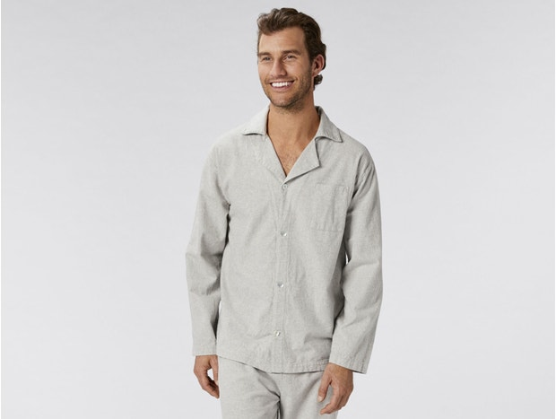 Men's Cloud Brushed™ Organic Flannel Pajama Set