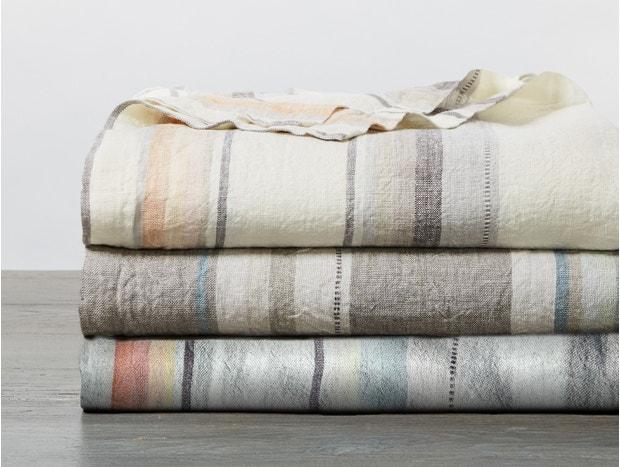 Mojave Organic Linen Blanket