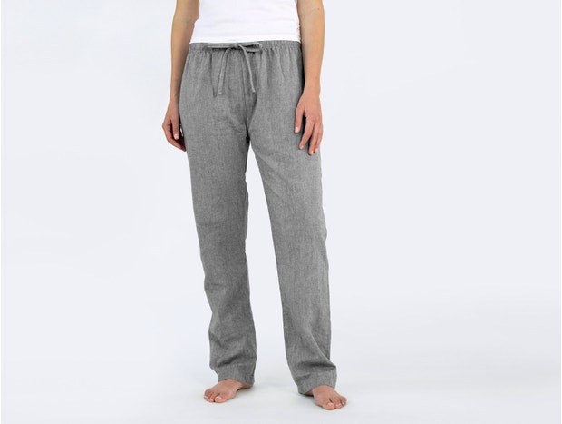 Women's Organic Crinkled Pajama Pant
