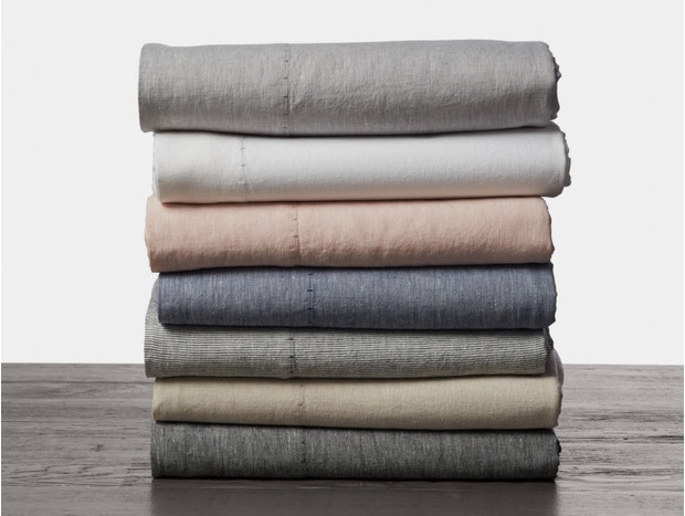 Organic Linen Chambray Sheet Set Subscription