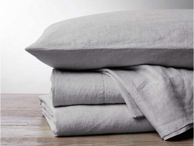 Organic Linen Chambray Sheets