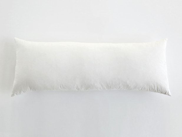 Down Feather Lumbar Pillow Insert